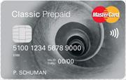 Prepaid MasterCard Classic